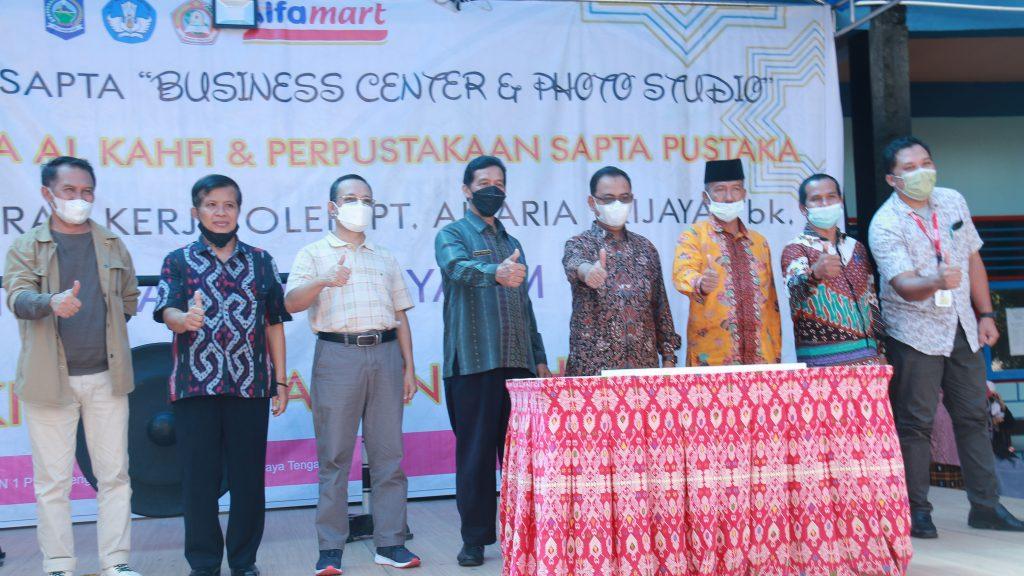 AisLah SAPTA di-Launching, SMKN 1 PRAYA TENGAH Siap Mencetak Wirausaha Muda