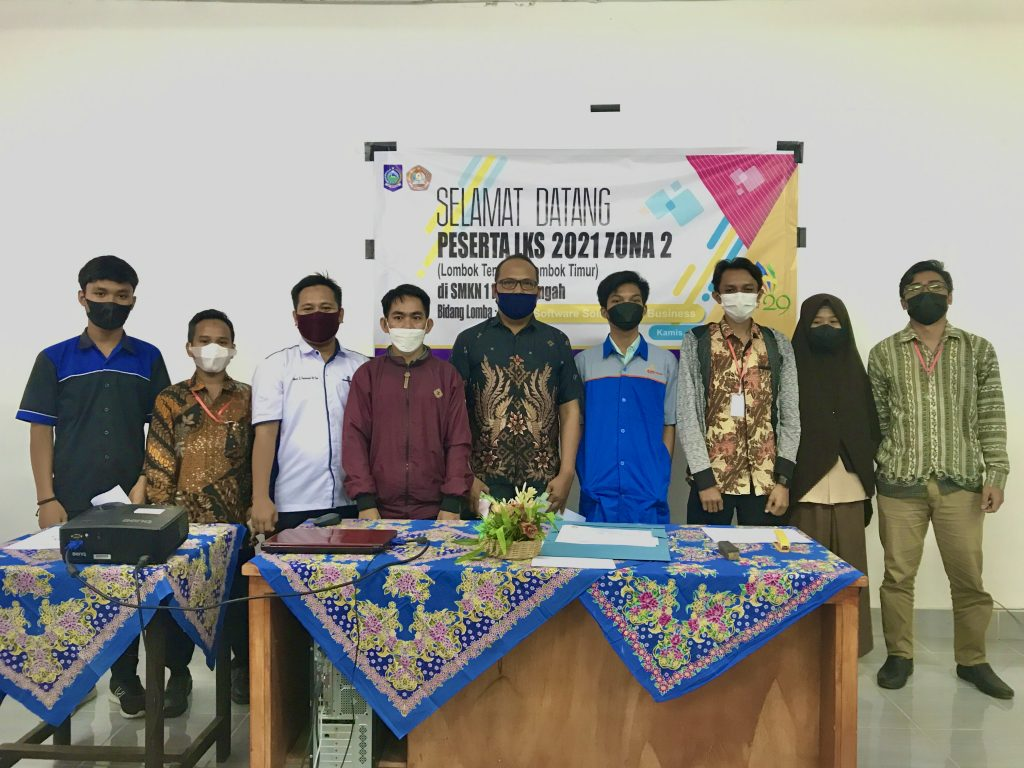 LKS 2021 Zona 2 Bidang IT-Software Solution for Business